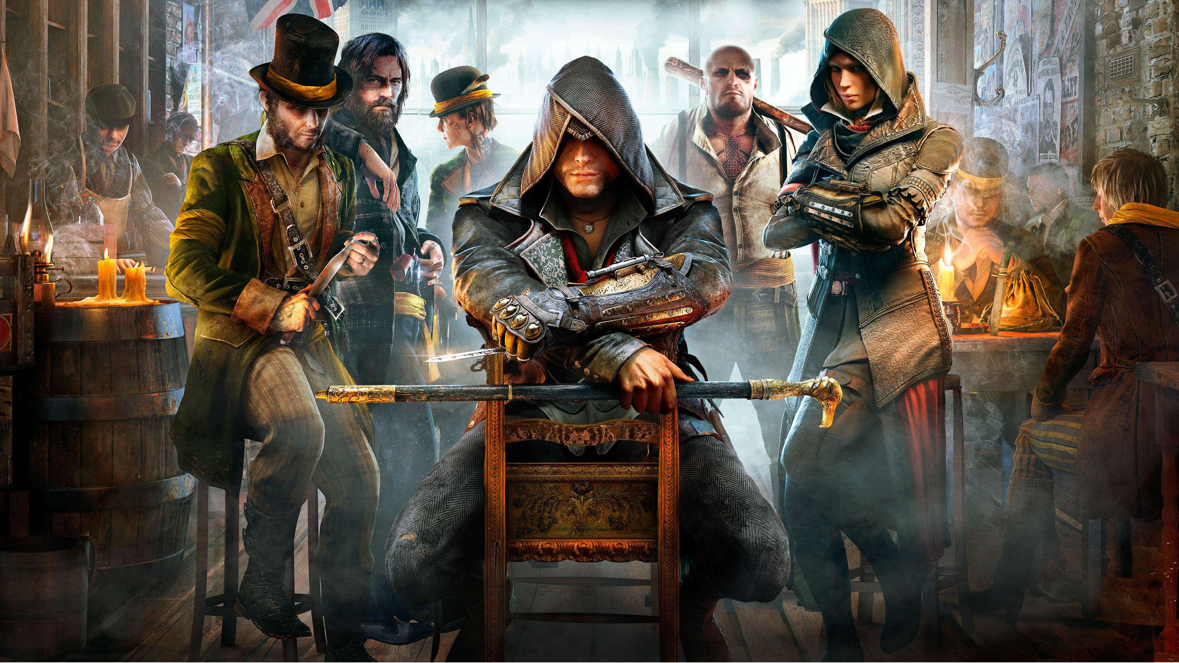 Assassin Creed Syndicate Full Weapons List