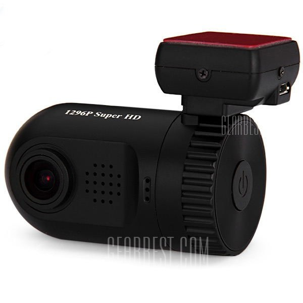 MINI 0805 1.5 inc 1296P HD LCD Screen GPS Car DVR Camcorder