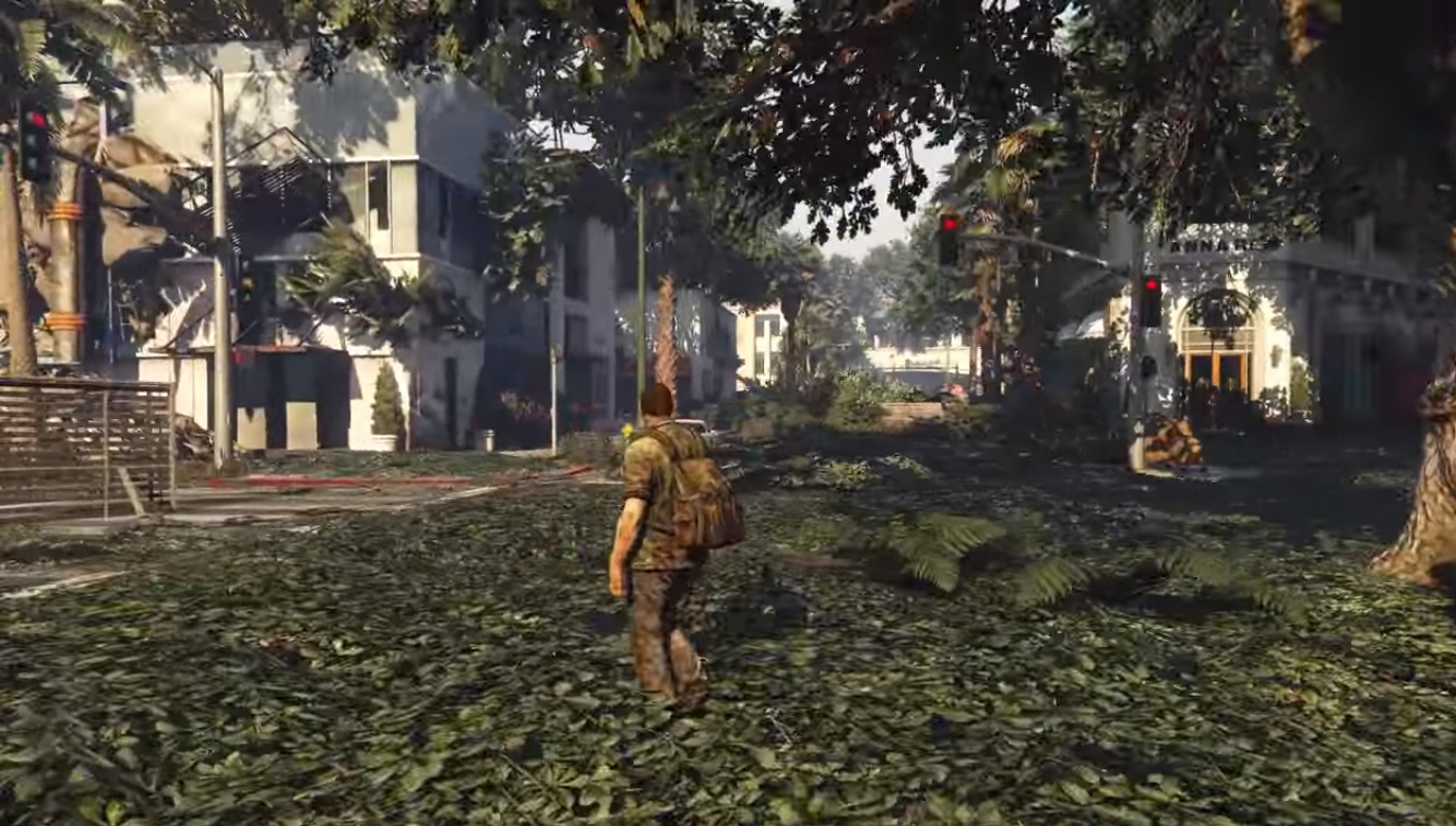 Modders Recreate The Last of Us in GTA5
