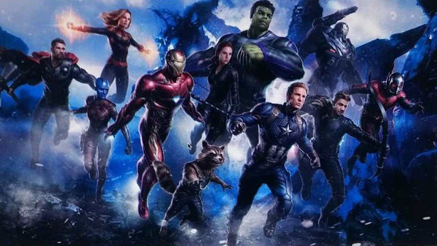 New Avengers 4 Promo Art Of Our Favorite Marvel Superheroes